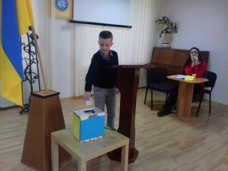 Вибори президента учнівського самоврядування